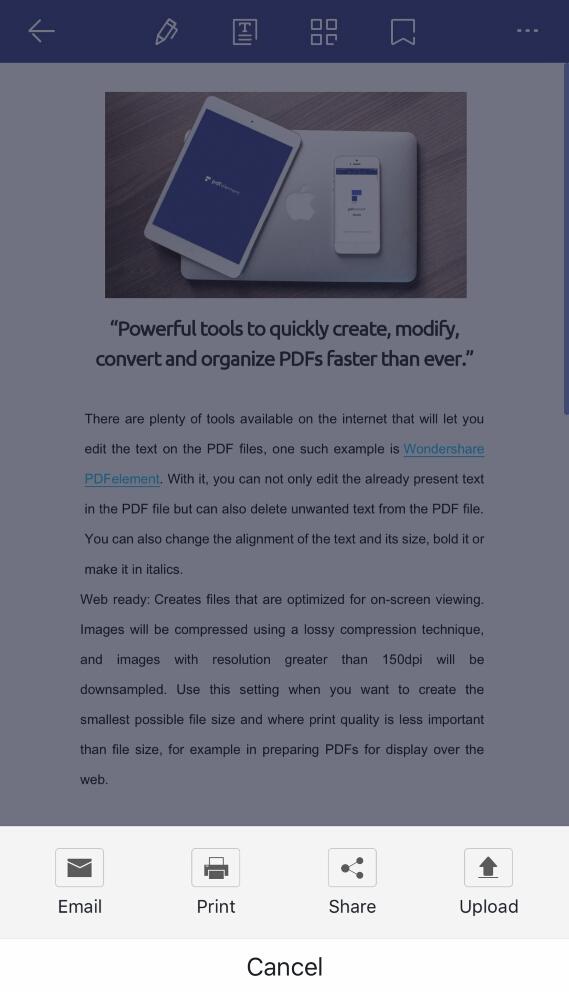 top 5 free pdf printers for iphone wondershare pdfelement