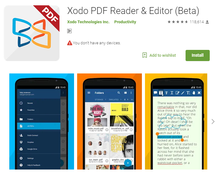 pdf text to speech android