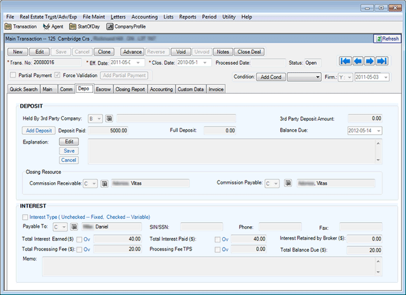Best accounting software option for real estate