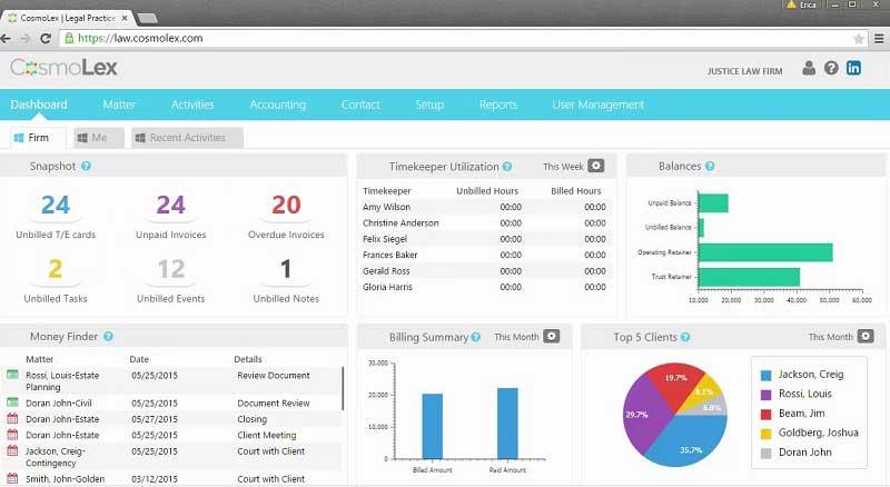 legal document management services
