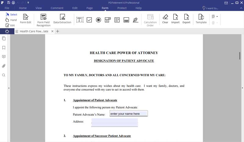What Is Medical Power Of Attorney Free Download And Edit