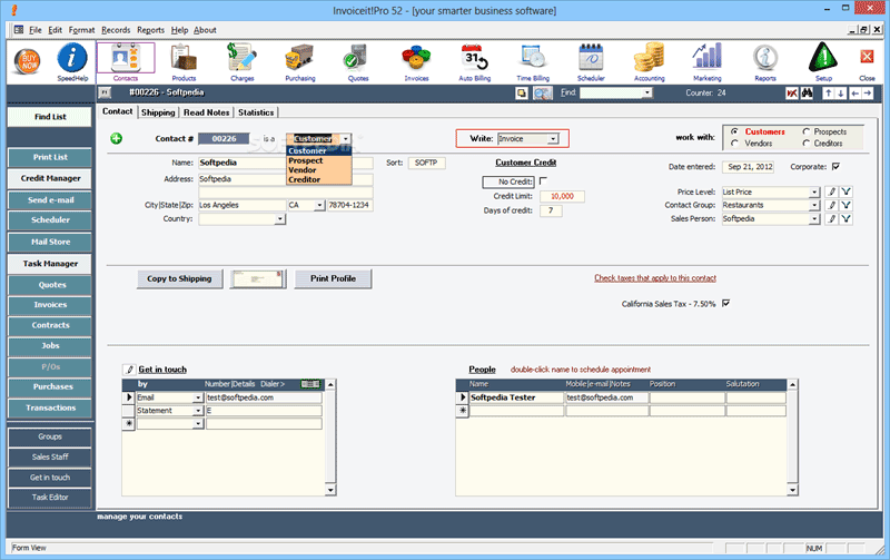 invoice management software free