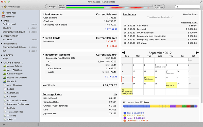 free software for personal finance