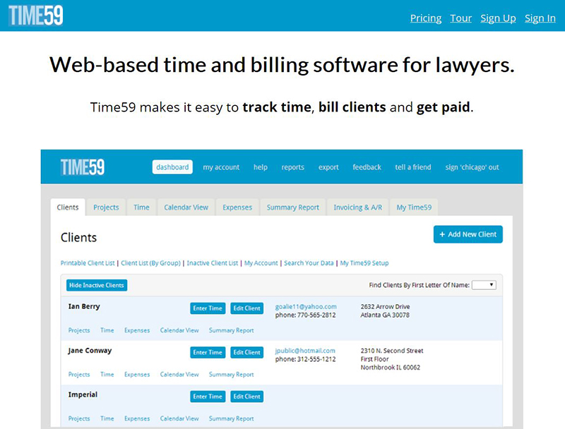 legal billing software reviews
