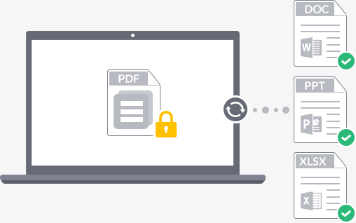 Convert Protected PDF