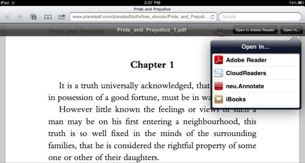 read pdf on ibooks