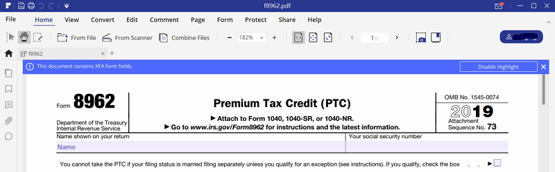 IRS Form 8962: Instruction for How to Fill it Right