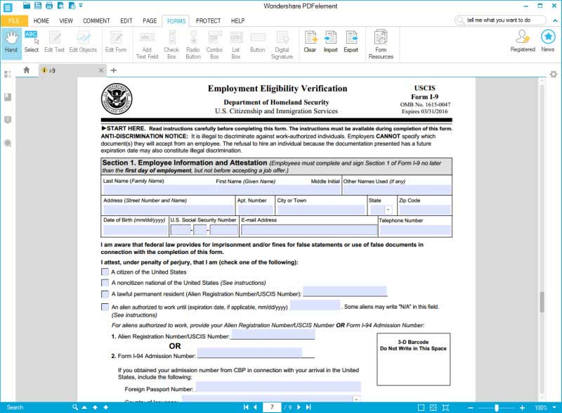 Form I-9: Understanding the Employment Eligibility Verification