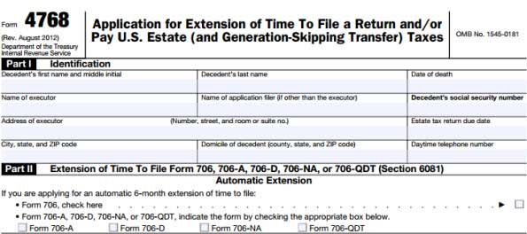 Tax Extension Form Extend Tax Due Date If You Need Wondershare