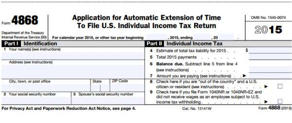 Beautiful This Is The Proper And Required Tax Form To Use To File The Extension Of  Your Individual Income Tax Return And Submit It To The Internal Revenue  Service By ...