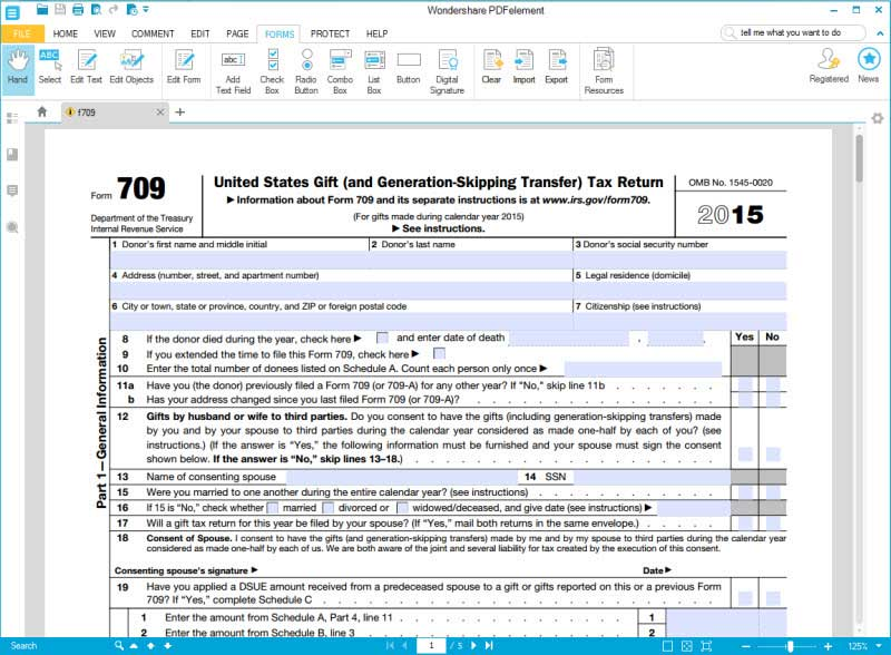Instructions For How To Fill In Irs Form