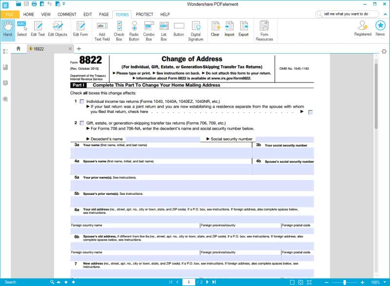 Irs Form 8822: The Best Way To Fill It