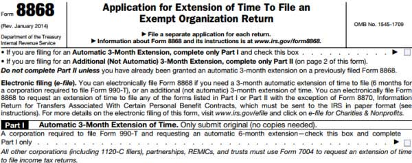 Tax Extension Form: Extend Tax Due Date If You Need