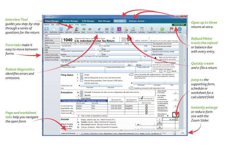 top tax software