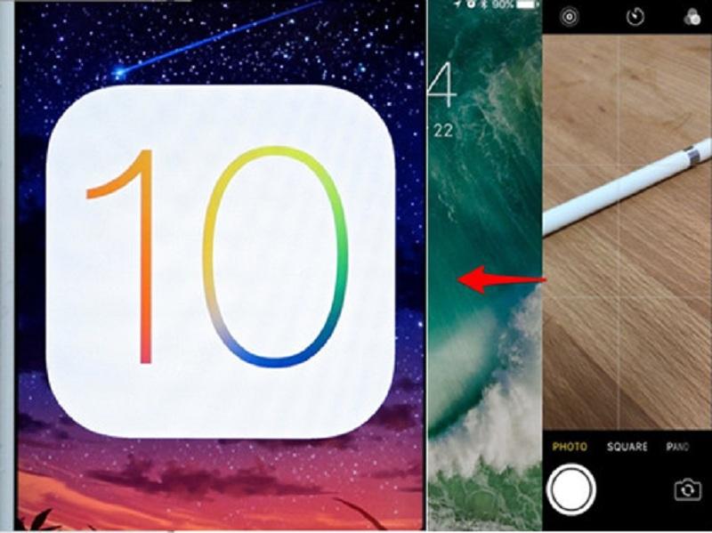 Amélioration de l'écran de verrouillage sur iOS 10