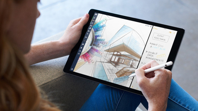 Image result for iOS 11 will let you use the Apple Pencil