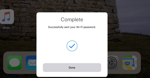 ios 11 instant wifi sharing