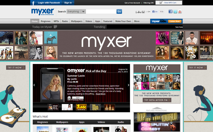 Myxer Ringtones Free Download For Iphone