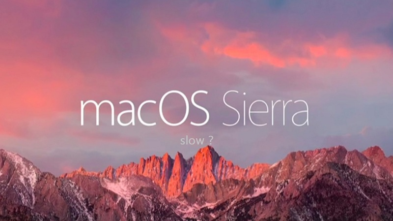 sierra working slow