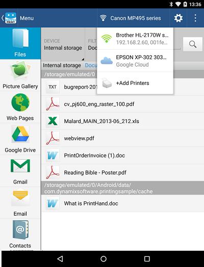 5 Best Printer App for Android | Wondershare PDFelement