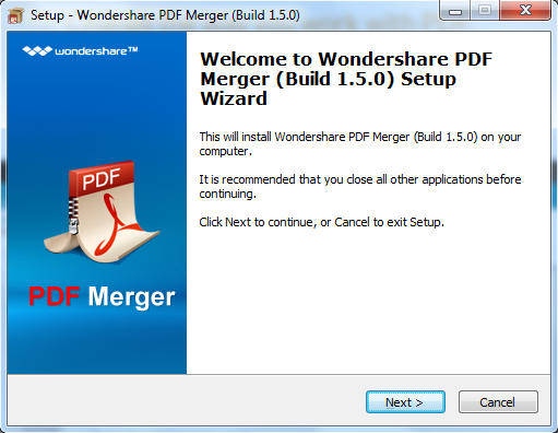 install pdf merger for windows