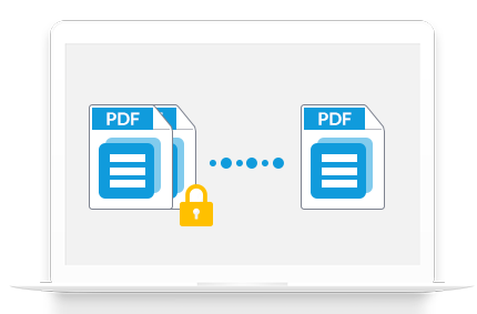 merge protected pdf files