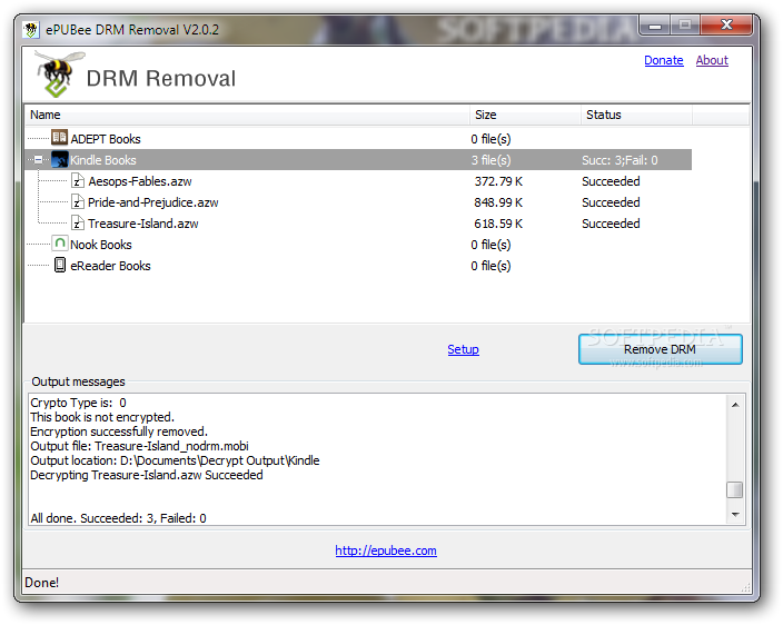 remove drm epub ipad