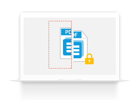 split protected pdf files