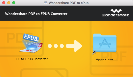 Wondershare PDF to EPUB Converter for Mac User Guide
