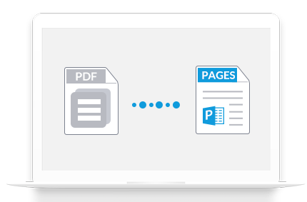 convert pdf to pages
