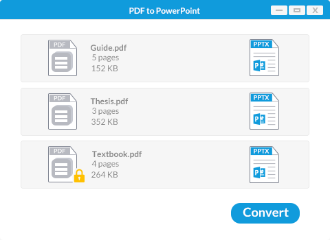 convert pdf to ppt on windows