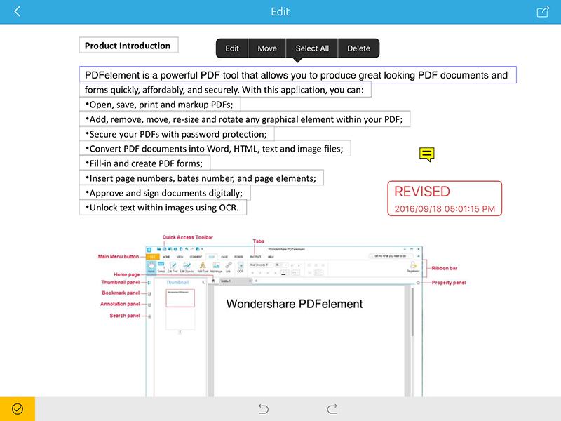 write on pdf ipad