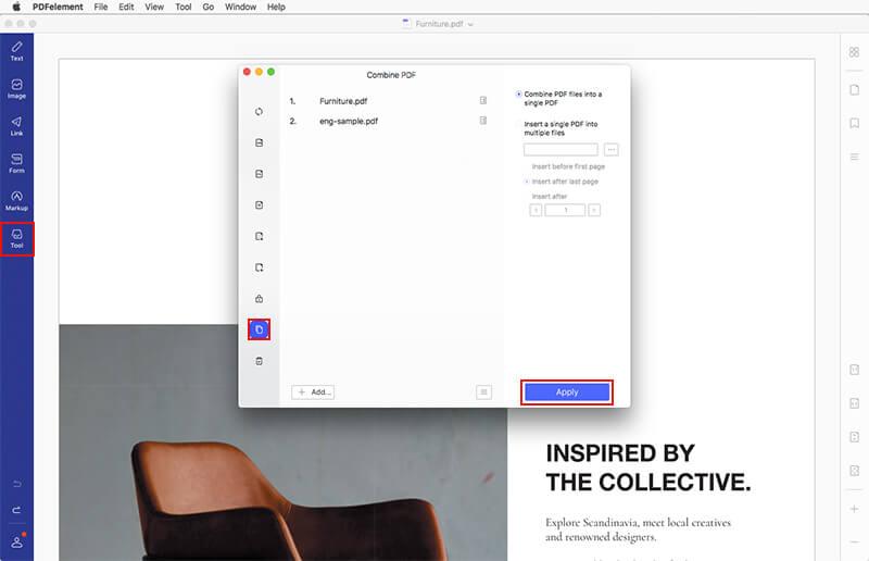 join pdf files mac