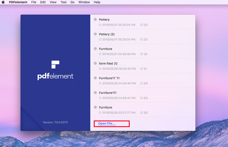 How to Compress PDF on Mac (Mojave Included) | Wondershare PDFelement