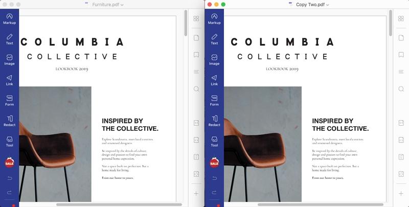 compare pdf files mac