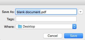 pdf to pdf a mac