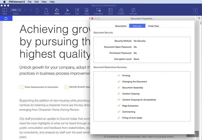 voir métadonnées pdf mac