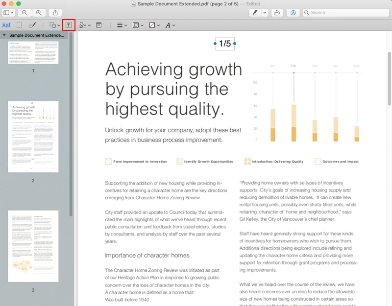 How To Add Page Numbers To Pdf On Mac 2018 Wondershare Pdfelement