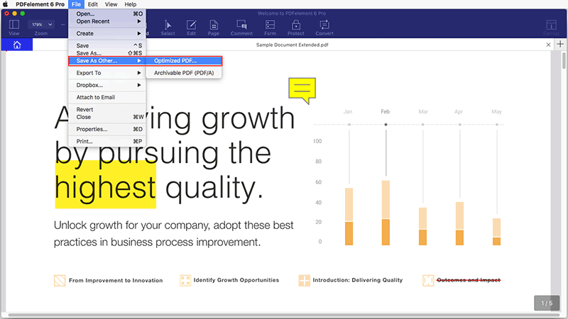 оптимизировать pdf
