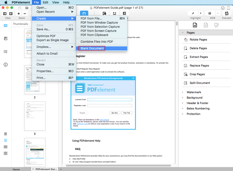 how to keep hyperlinks in pdf from word mac