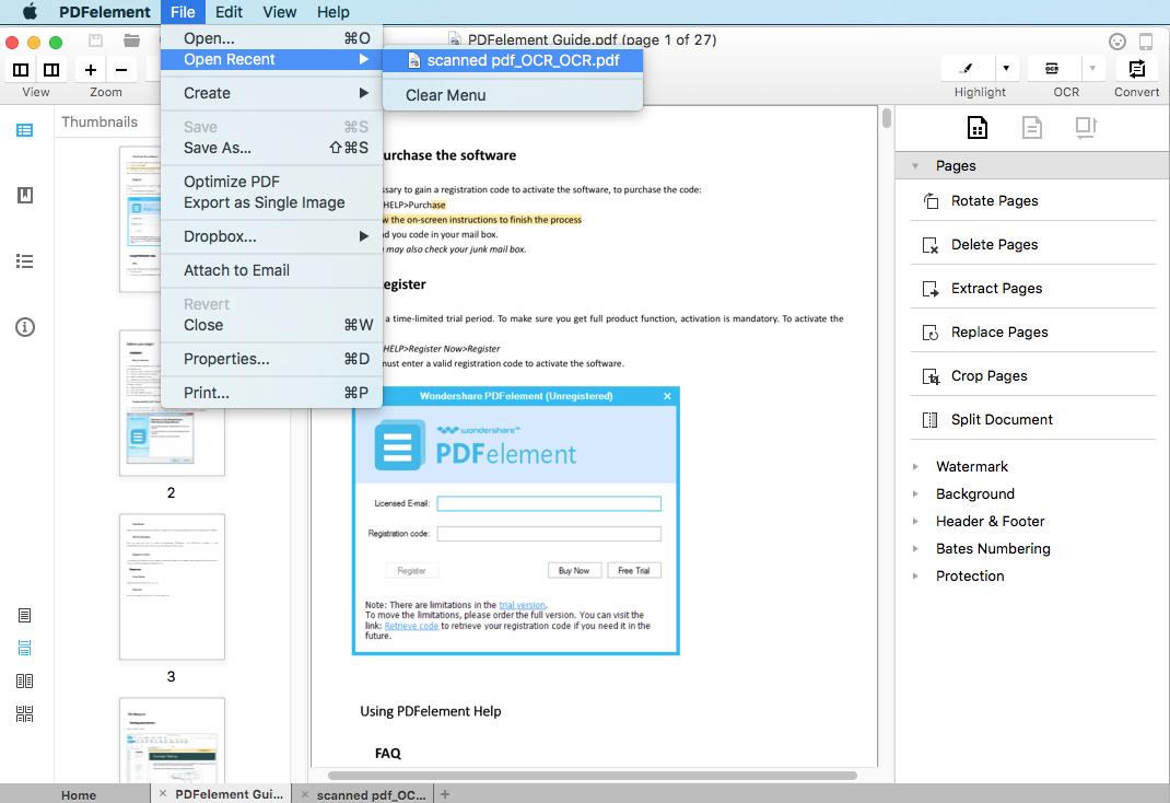 Comment transformer un fichier docx en pdf mac - Comment convertir un fichier pdf en open office ...