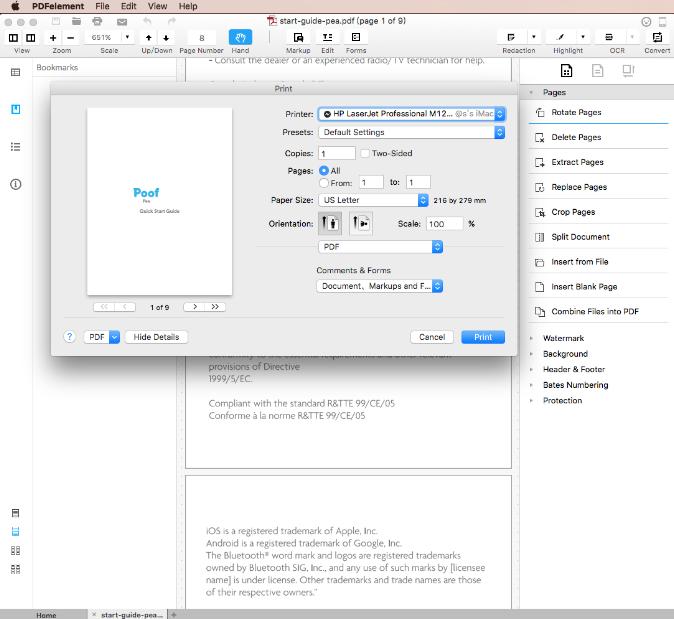 download free pdf printer for mac