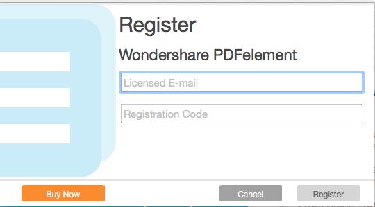 register pdfelement