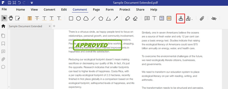 Add Stamp to PDF in Adobe Acrobat? Check the Best Way to Do