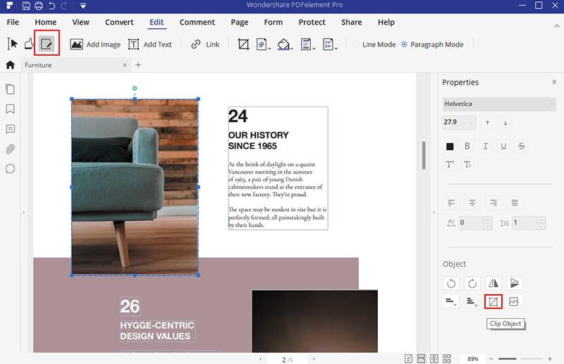 Top 4 Smart PDF Graphic Editors | Wondershare PDFelement