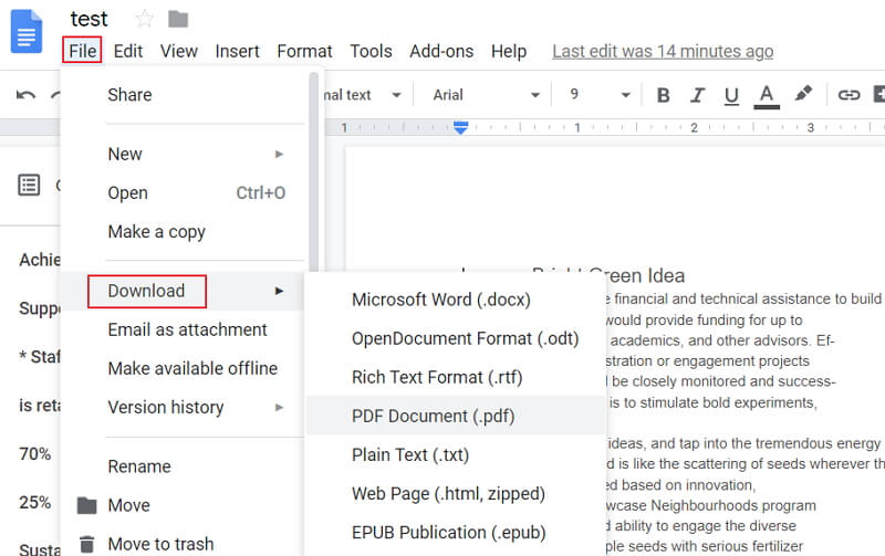 can you edit a pdf in google docs