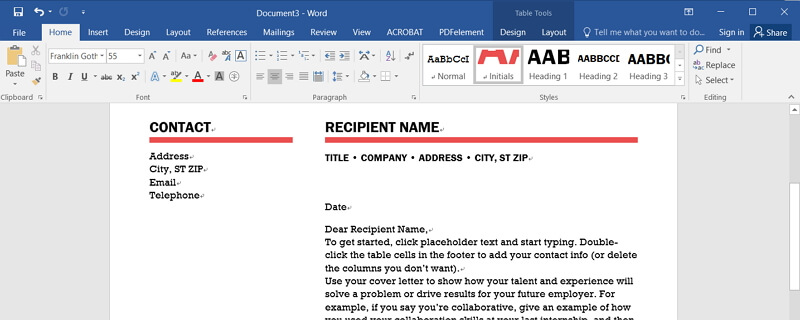 How to Insert PDF into Word Document for Free