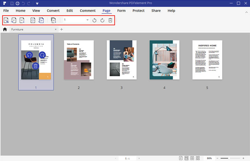 come modificare di pdf