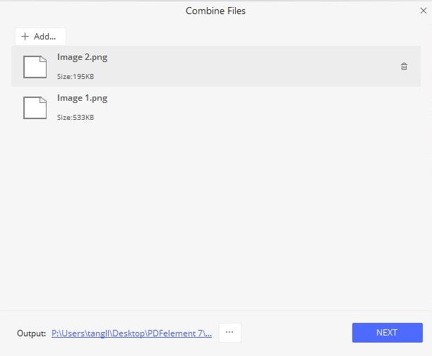 Creazione di un PDF da Più Immagini PNG