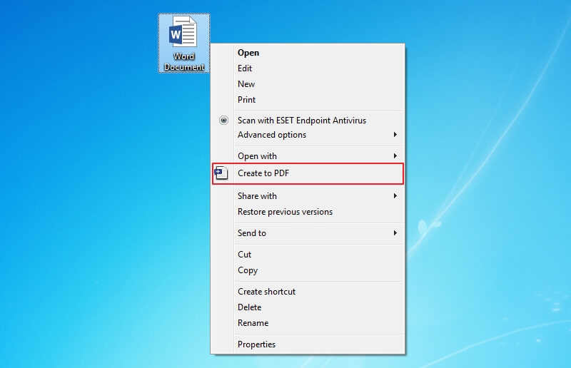 how to create pdf file